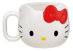 $15.99 Hello Kitty Face Die-Cut Mug  From Hello Kitty   Get it here: http://astore.amazon.com/ffiilliipp-20/detail/B003IWKLW4/177-5370948-4516127