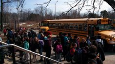 Many kids use the bus system to get around