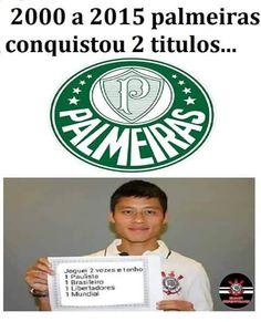 Palmeiras = PIADA Zizao = MITO