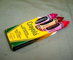 Avon Crayola Lip Gloss- my cousin ate my chocolate brown one lol. I was so mad.