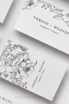 Art Business Cards, Beauty Business Cards, Luxury Business Cards, Minimal Business Card, Elegant Business Cards, Custom Business Cards, Business Design, Creative Business Cards, Business Card Design Templates