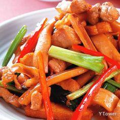 客家小炒食譜 - 豬肉料理 - 楊桃美食網 專業食譜