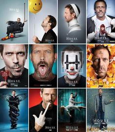 The many faces of Dr. House