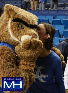 Ashley Judd getting it done at Rupp. #trueKYfan #gocats