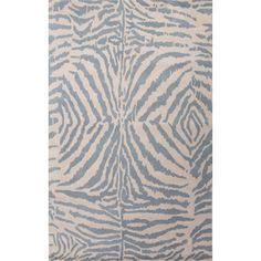 En Casa Gray & Ivory Animal Print Area Rug I