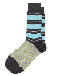 patherella cotton stripe socks