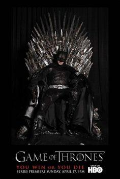 Batman on the iron throne