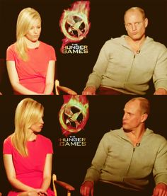 Image result for woody harrelson and elizabeth banks