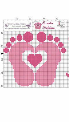 Stitch Fiddle is an online crochet, knitting and cross stitch pattern maker. Baby Cross Stitch Patterns, Cross Stitch For Kids, Cross Stitch Baby, Cross Stitch Charts, Cross Stitch Designs, Graph Crochet, Pixel Crochet, Crochet Patterns, C2c Crochet