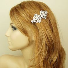 Art Deco Style Bridal Hair Comb Wedding Hair Accessories