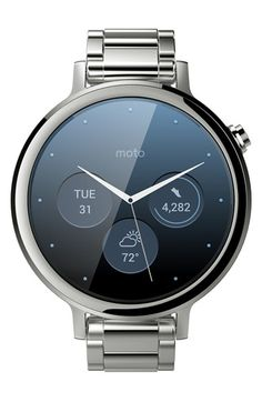 Pretty impressive smart watch from Motorola. Almost makes me want to buy a Motorola phone again.  'Moto 360 2nd Gen' Smart Watch, 42mm available at #Nordstrom