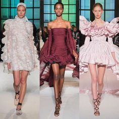 Giambattista Valli Haute Couture 12 show @giambattistavalliparis #giambattistavalli #hautecouture  via INSTYLE RUSSIA MAGAZINE OFFICIAL INSTAGRAM - Fashion Campaigns  Haute Couture  Advertising  Editorial Photography  Magazine Cover Designs  Supermodels  Runway Models