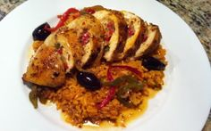 Stuffed Southwest Chicken and Spanish Rice Chicken And Spanish Rice, Spanish Rice Recipe, Southwest Seasoning, Southwest Chicken, Rice Recipes For Dinner, Chipotle Pepper, I Foods, Chicken Recipes, Good Food