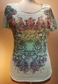 WOMENS T-Shirt Fashion Style Casual Blouse Top Graphic Fun Teen CLOTHING USA | eBay