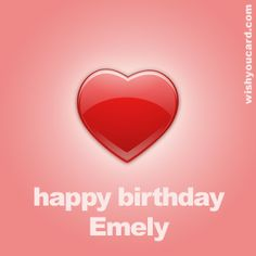 Happy Birthday, Emely!