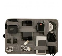 Love this gadget tote for techie travel!