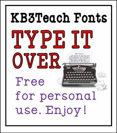 FONTS:  Free for personal use (commercial license available).