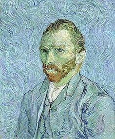 Vincent Van Gogh - Self portrait, 1889 - jetzt bestellen auf kunst-fuer-alle.de