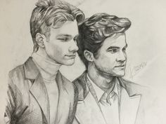 Darren and Criss, great drawing!
