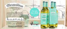 Oferta: 4 botellas de vino blanco verdejo Maravilloso Leiras & @muymolon. Amigos de las bodegas.