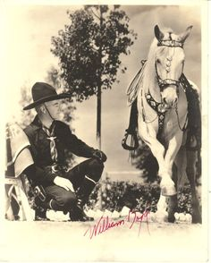 William Boyd......Hopalong Cassidy