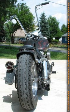 Photo of 1969 FLH Harley Shovelhead Bobber by Mark.