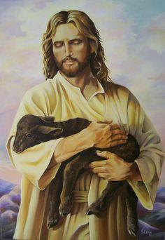 He is the good shepard. El es el buen pastor.