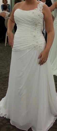 Wedding dress-David's bridal