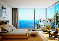 43 Best Modern Bedroom Color Schemes Ideas This Year Modern Bedroom Design, Modern Interior, Interior Architecture, Interior Designing, Awesome Bedrooms, Beautiful Bedrooms, Bedroom Flooring, Bedroom Furniture, Wooden Furniture