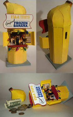 """THERE'S ALWAYS MONEY IN THE BANANA STAND!!!"" - Bluth Banana Stand Bank - I need this now."