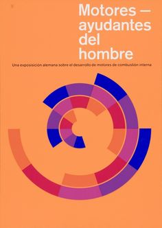 """Motores ayudantes del hombre a poster that visualizes the """"golden section""""."""