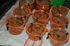 ingemaakte kweeperen Chutney, Preserves, Food And Drink, Vegan, Canning, Fruit, Desserts, Drinks, Seeds