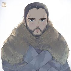 Jon Snow, Game of Thrones Game Of Thrones Westeros, Arte Game Of Thrones, Game Of Thrones Poster, Cersei Lannister, Sansa Stark, Geeks, Daenerys Targaryen Art, Jon Targaryen, Got Anime