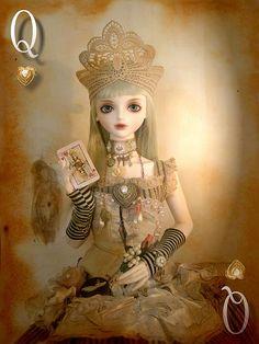 :: Crafty :: Doll :: Steampunk :: steampunk queen of hearts   by l u d y c o