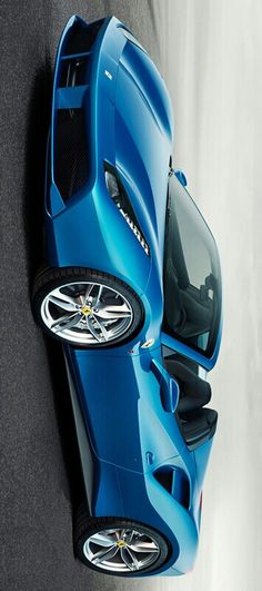 Love the blue of this Ferrari.  It's a 2015 Ferrari 488 Spider uploaded by Levon Grigoryan