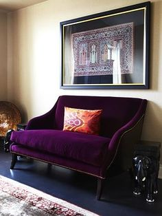 The clients' artwork added to the elegance of the renovation.