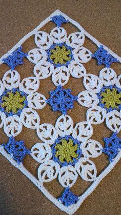 Felissimo Turkish Tile nº 9  布花アクセサリーDN25の画像 | 野の花手芸噺