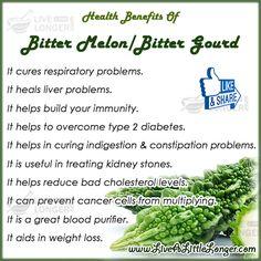 Bitter Melon Benefits #health #foods #selfcaretips   livealittlelonger.com