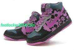 info for 8b9a5 9fae8 Nike Sky High Dunks For Girls 2 BY Ceykey Blate Black Violet Nik  fashion   shoes