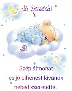 Good Night Sweet Dreams, Baby Dogs, Good Morning, Snoopy, Teddy Bear, Toys, Children, Animals, Character