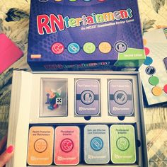 RNtertainment - an NCLEX exam review game. I muuust get this when the time comes.!!!!!!!!!!!!!!!