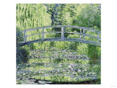 Water Lily Pond (Harmonie Verte), c.1899 Giclee Print by Claude Monet at Art.com