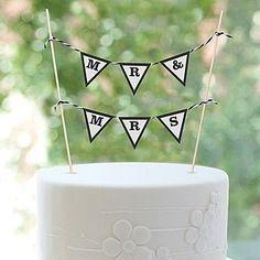 Wedding Banner Cake Topper Mr. and Mrs. by Shindigz, http://www.amazon.com/dp/B00BL4CKBG/ref=cm_sw_r_pi_dp_L5ljsb1FDPC5Q