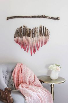 25 ideas para decorar paredes simples y geniales. #decorar #paredes…