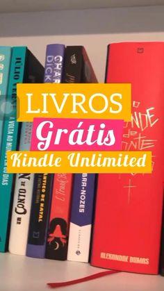 Livros grátis (e famosos)!disponíveis no Kindle Unlimited!