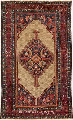 Antique Serab Persian Rug