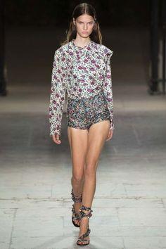 Isabel Marant ready-to-wear spring/summer '17 - Vogue Australia
