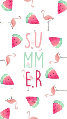 Cute watermelon wallpaper Wallpapers Pinterest Watermelon