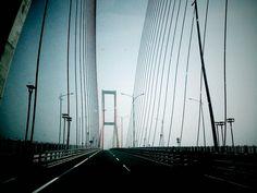 The bridge of Suramadu, East Java Indonesia...