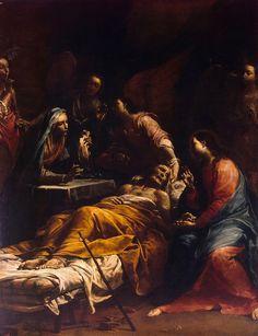 Giuseppe Maria Lo Spagnolo Crespi - Death of Saint Joseph [c.1712]